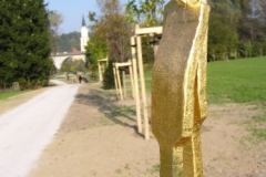 Buergerpark Ginkgo Die Liebenden, Vilshofen