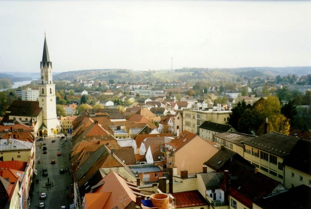 Bild vom Stadtturm Vilshofen