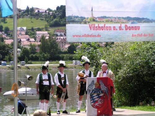 Einweihung des Donauradweges